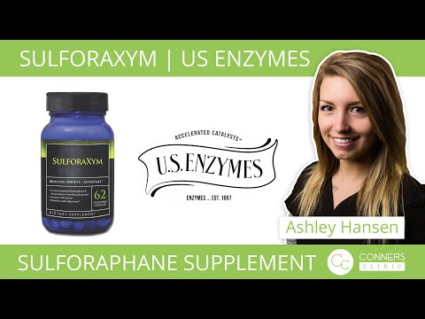 SulforaXym from US Enzymes | NRF2 Genetic Pathway | Sulforaphane Supplement