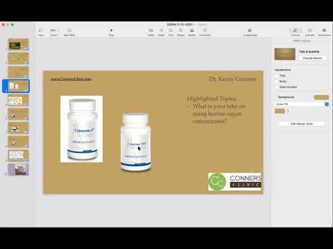 | Conners Clinic - Cachexia, Organ Concentrates, Stool Changes...