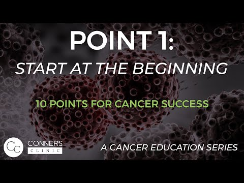 Cancer Class 1 Intro to Cancer Dr. Kevin Conners