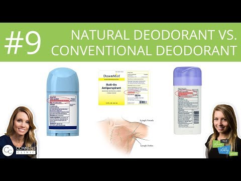 #9: Natural vs. Conventional Deodorant   The Anne & Ashley Show