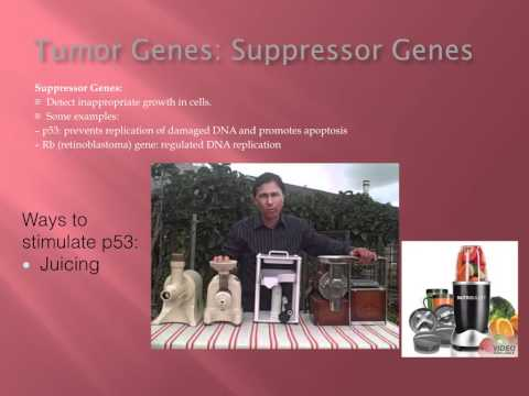 Cancer Class 5 - Juicing Dr. Kevin Conners