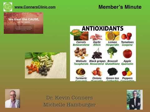 Dr. Kevin Conners - Member's Minute 4 - Antioxidants and Chemo