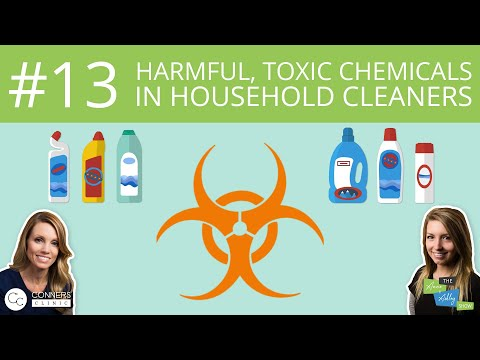 #13: Harmful, Toxic Chemicals in Household Cleaners | The Anne & Ashley Show
