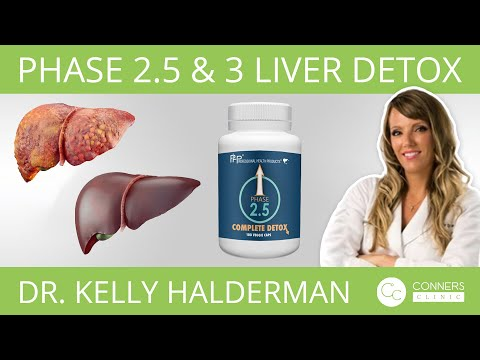 Phase 2.5 & 3 Liver Detox with Dr. Kelly Halderman | Conners Clinic