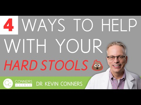 4 Ways to Help with your Hard Stools