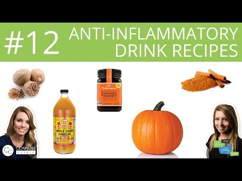 #12: Anti-Inflammatory Drink Recipes | The Anne & Ashley Show