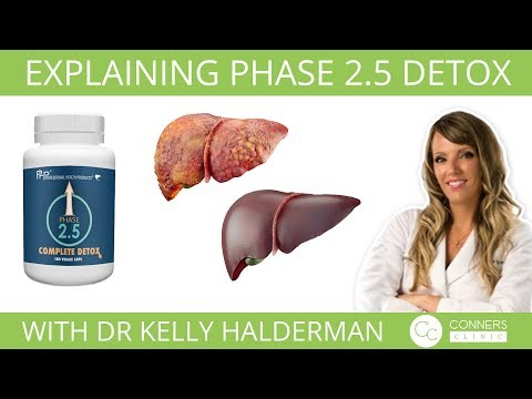 Explaining Phase 2.5 Detox with Dr Kelly Halderman | Conners Clinic