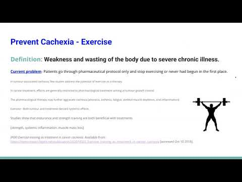 Exercise & Cancer by Ashley--Dr. Kevin Conners
