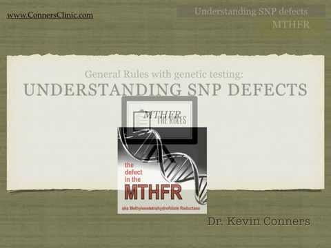 MTHFR Mutation - Understanding SNP Genetic Defects | MTHFR Gene | Conners Clinic