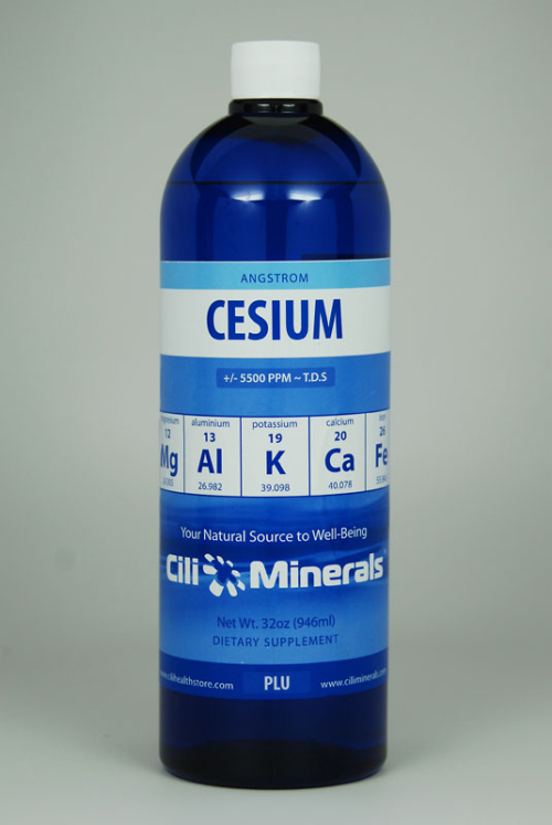 Cancer and Cesium therapy