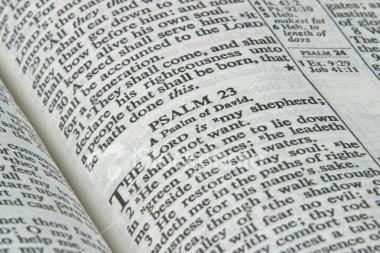 """The LORD is MY Shepherd…"""