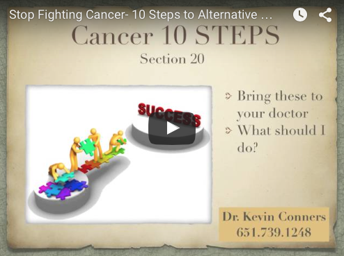 10 Steps for Cancer - Step 1: Start at the BEGINNING 1