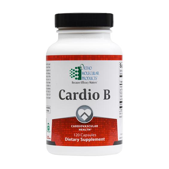 Support Cardiovascular Health with Cardio B 1