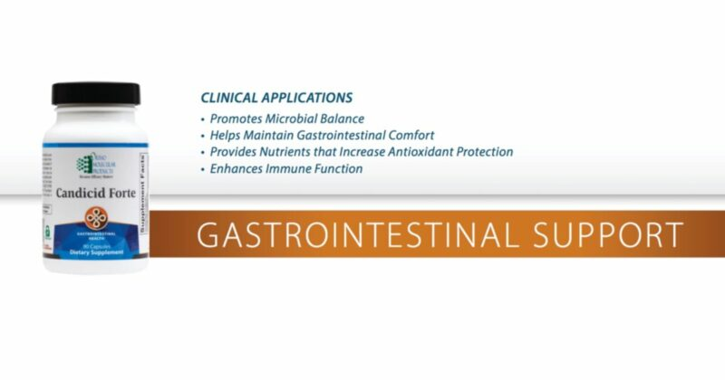 Candicid-forte-and-gastrointestinal-support-conners-clinic-dietary-supplement-orthomolecular