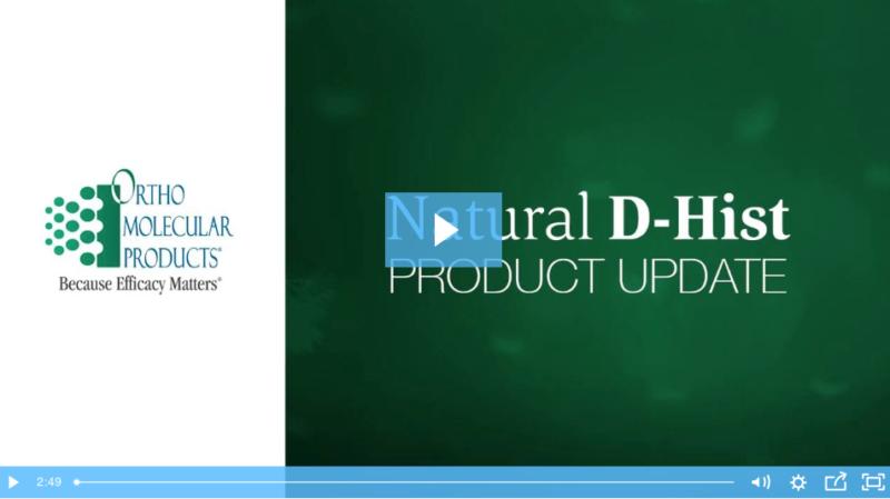 Natural D-Hist - A POTENT Anti-Histamine! 1
