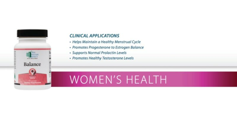 hormone-health-with-balance-women's-conners-clinic-orthomolecular-supplements