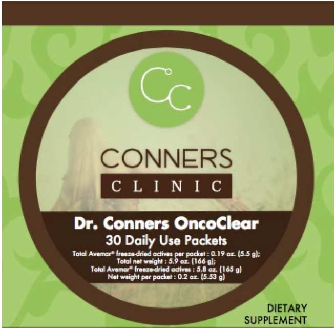 Onco-clear-conners-clinic-supplement-store