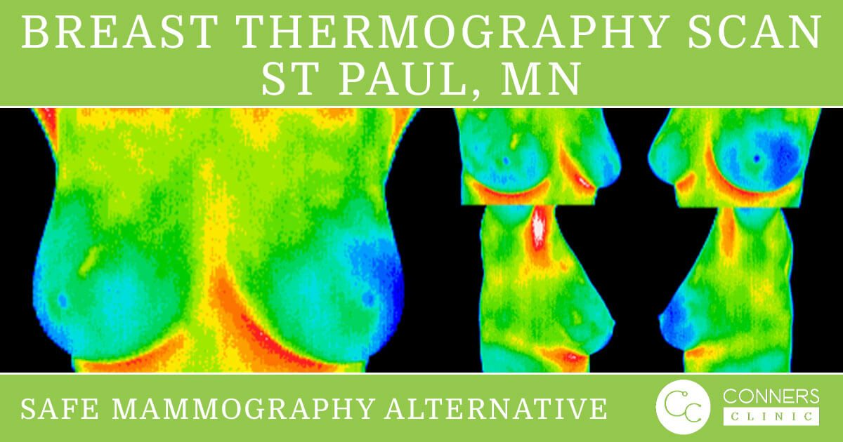 October Breast Cancer Awareness Month Thermography Scan Conners Clinic